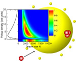 Modeling the formation of alkali clusters attached to helium nanodroplets and the abundance of high-spin states